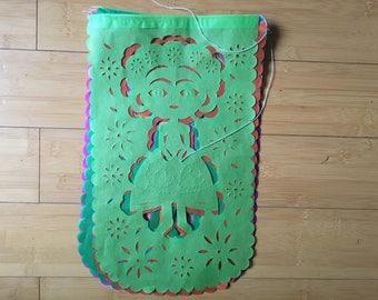 Papel Picado Mexican Frida Kahlo Fiesta Banner Garland