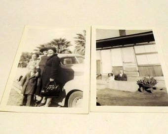 1942 black and white pictures set of 2