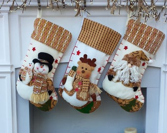 Christmas Stockings - Fleece Collection