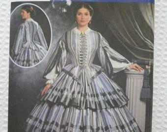 Simplicity 9761 Civil War Era Dress The Fashion Historian Martha McCain Gone With The Wind