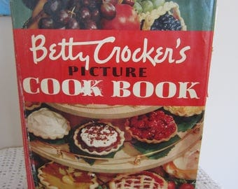 Vintage 1950 Betty Crocker's Picture Cook Book 1st Edition 3rd Printing