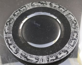 Black Forest, Ebony 10 Inch Plate