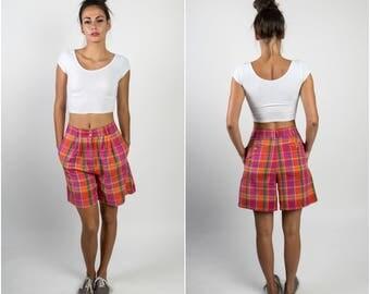 Drop Crotch Shorts - High Waisted Shorts - Women Culottes -  Loose Fit Shorts -  Relaxed Shorts -  Cotton Shorts -  Wide Leg Shorts