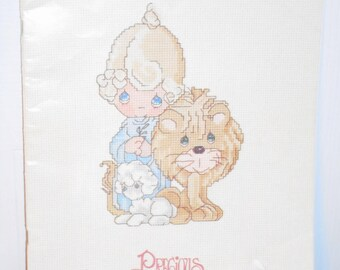 Peace on Earth Precious Moments Book PM-4 Counted Cross Stitch Book