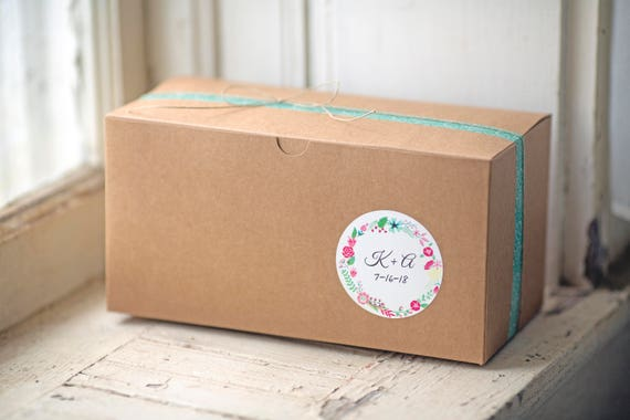 9x4.5x4.5 inch Kraft Gift Boxes lot of 30