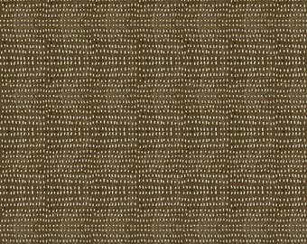 Winter News from Blend Fabrics - Full or Half Yards of brown dotted blender fabric