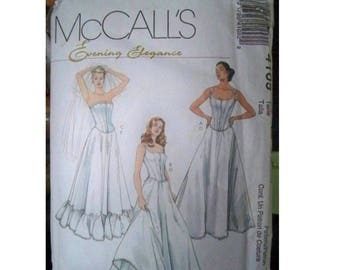 McCall's Pattern 4109 - Evening Elegance - Uncut