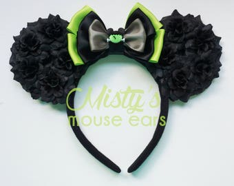 Limited Mickey Frankenstein Rose Mouse Ears Mickeys Not so Scary Halloween
