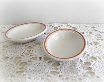 Vintage Ironstone Bowls McNichol China Restaurant Ware