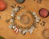Wizard of Oz Inspired Charm Bracelet SALE!