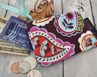 Dollbirdies Mini Coin Pouch, Zipper Coin Purse, Hearing Aid Pouch, Ear Bud Pouch,