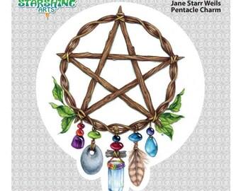 Pentacle Charm