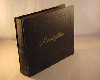 Decca Record Storage Album for Vinyl 45 Records