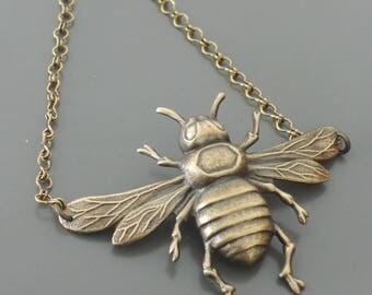 Vintage Bracelet - Bee Bracelet - Brass Bracelet - Chloe's Vintage Jewelry - Boho Bracelet - handmade jewelry