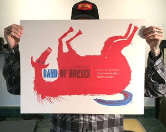 Band Of Horses Horse 2006 poster