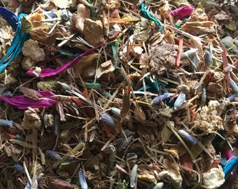 Litha Midsummer Herbal Blend Wicca Pagan Spirituality Religion Ceremonies Hoodoo Metaphysical MaidenMotherCrone
