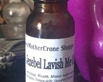 Jezebel Oil Wicca Pagan Spirituality Religion Ceremonies Hoodoo Metaphysical MaidenMotherCrone