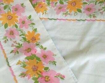 Summer Sale Pretty in pink.. 2 Standard Pillow