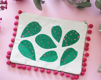 Polka Dot Plant Clutch - Plants I met and liked Mini Collection - Only 5 made!
