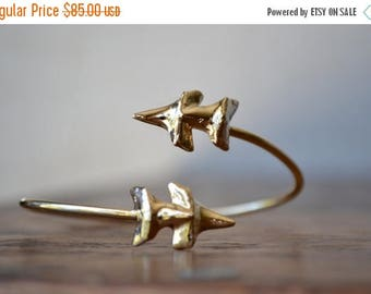 35% OFF DOUBLE CHOMP /// 24kt Gold or Silver Electroformed Shark Teeth Cuff Bracelet /// Lux Divine Jewelry