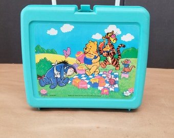 Vintage Winnie The Pooh Lunchbox and Thermos