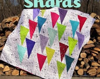 PDF pattern of Shards quilt