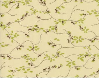 Ants march in Cream from the Lucky Day fabric collection by Momo for Moda - 33293 11