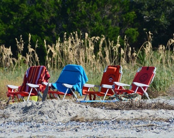 Chairs at the Beach Greeting Card Assortment