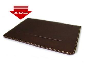ON SALE : iPad / iPad Air / iPad Pro 10.5 sleeve case in Box Calf BROWN