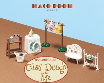 HACO Room Minegaso Laundry Kit Miniature - HACO Room Dollhouse Miniature Toy, by BANDAI Japan