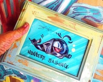 n o n s t o p sailing /// art print