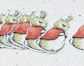Mopsy Cottontail MINI Cutouts - Peter Rabbit Confetti