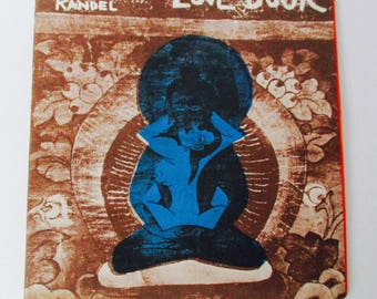 """Lenore Kandel """"The Love Book"""" 1st Edition SF Hippie Culture Book Published 1966"""