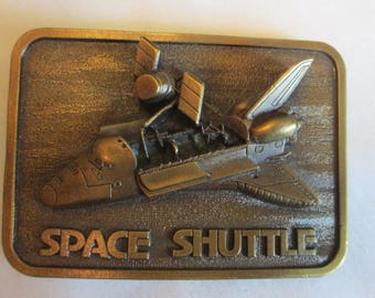 Space Shuttle NASA Belt Buckle