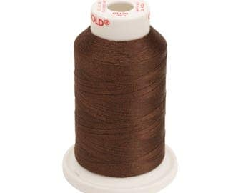 Polyester 40  Machine Embroidery Thread -- 61129 Brown