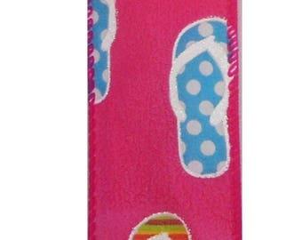 ON SALE 1.5 Inch Flip Flop Ribbon TR30909-28