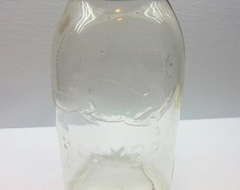 Vintage  Beaver Jar, Half Gallon Canning Jar