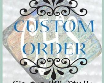 Custom listing for Diane