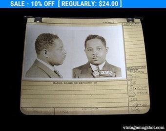 1942 Allegheney County Pa Police Criminal  MUG SHOT Dapper  28 Year Old Truck Driver