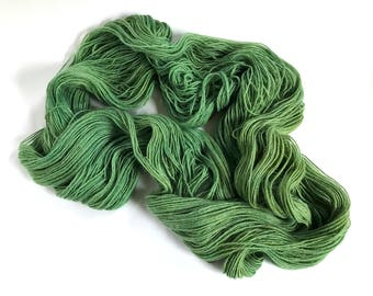 Tamusi Pure Alpaca 4 Ply/Fingering Yarn. Marram Grass