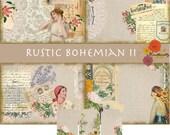 Rustic Bohemian II (Digital paper)