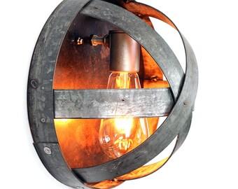 Wine Barrel Ring Sconce - ATOM - Arc