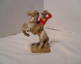 1958 Lone Ranger Chalkware Rearing Horse Figurine