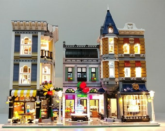 Light up kits for LEGO 10255 - AssemblySquare  - (Model not included)