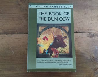 The Book of Dunn Cow by Walter Wangerin Jr. Harper & Row Paperback