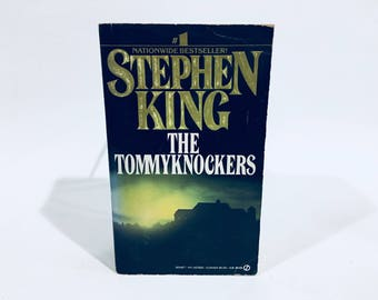 Vintage Horror Book The Tommyknockers by Stephen King 1988 First Edition Paperback