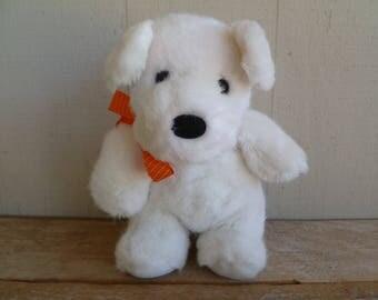 Plush Dog, Terrier, Puppy Vintage