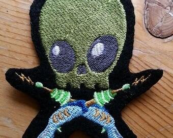 Alien Patch,Skully