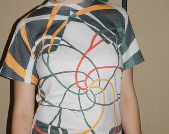 Mystical Star of David on 100% Organic Cotton Shirt