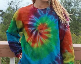 Tie Dye Sweatshirt   Size Medium upcycled